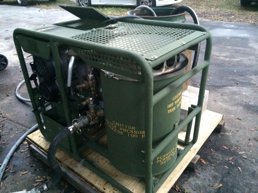 250 000 Btu Portable Hydronic Heater Alternative Energy
